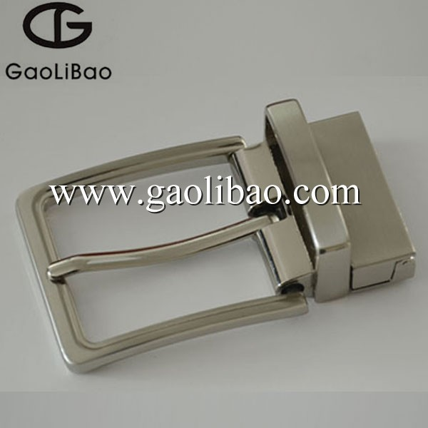 35mm pin buckle with reversible screw belt buckles zinc alloy OEM ODM ZK-350632