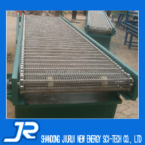 2015 China best quality stainless steel 304 food grade wire mesh belt conveyor