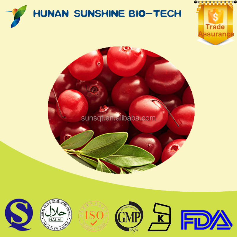 organic pure natural Proanthocyanidins / 50% Proanthocyanidins cranberry juice extract / cranberry