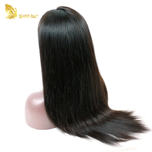 Ali online sale 130%150% straight Braziilian human hair free lace wig samples