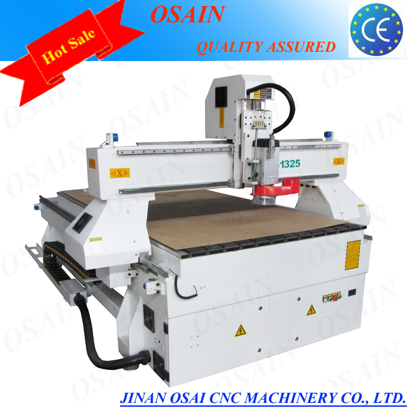High Quality 3 Axis 1325 Sculpture Wood Carving/ Stone / Advertising CNC Router Machine For Sale
