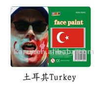 TARGET Audited Supplier,Turkey national flag non-toxic face paint