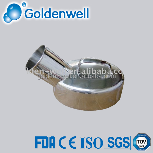Stainless steel urinal pot