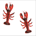 plastic decoration lobster toy