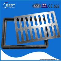 Medium duty B125 smc composite trench cover used in housing estate