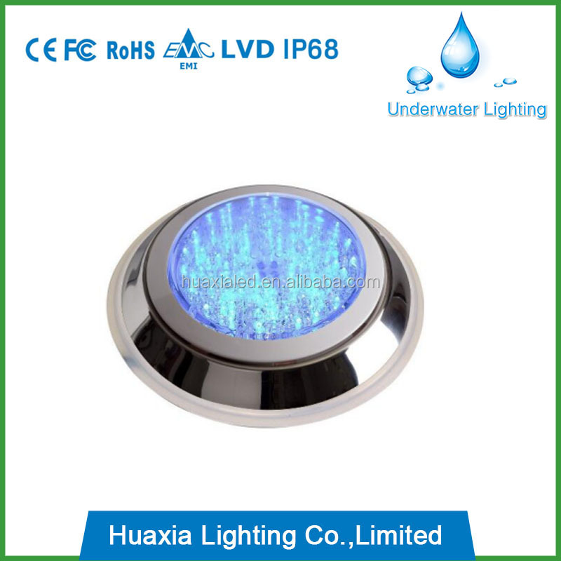 Factory price 30W SS 316 LED surface mounted swimming pool lights