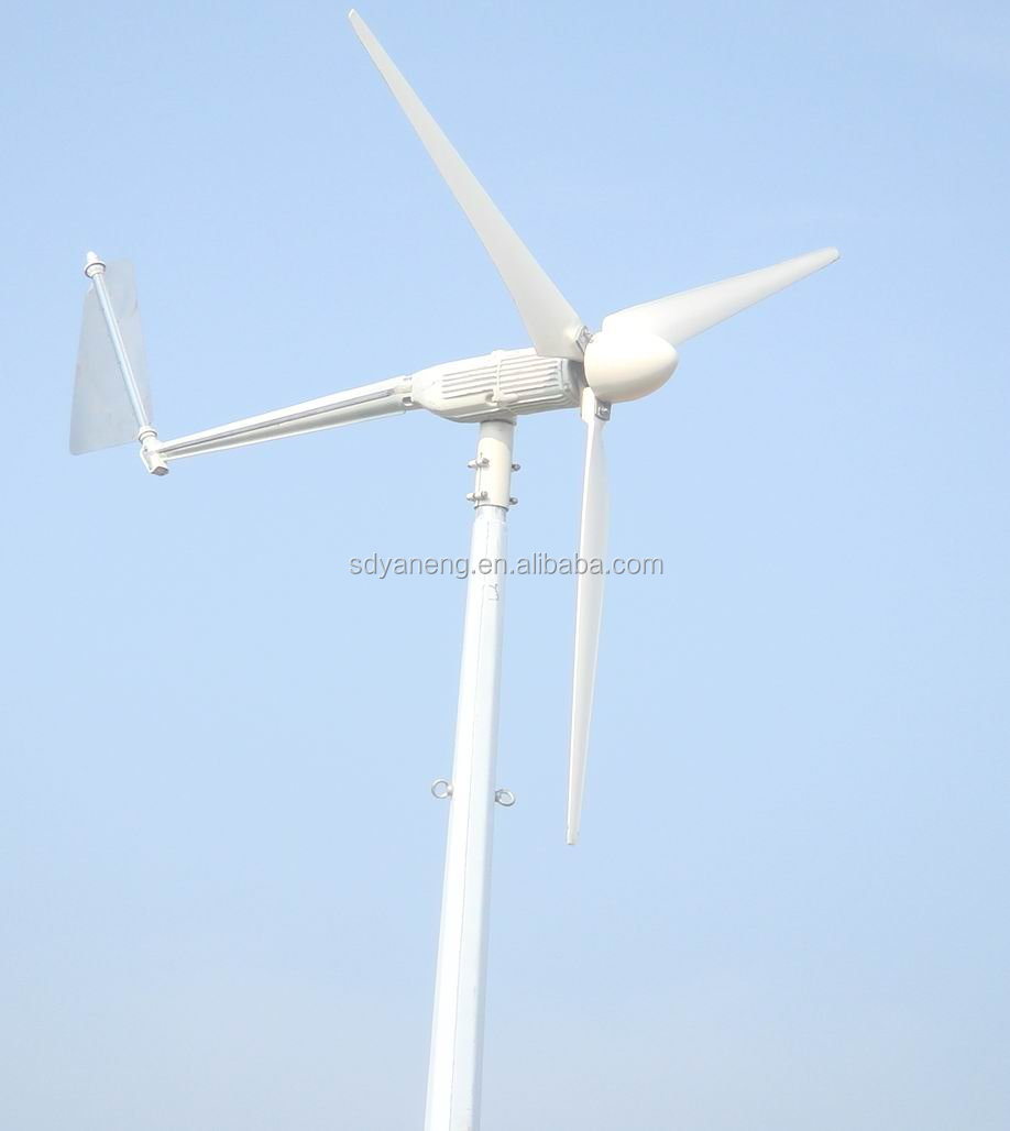 Yaneng small windturbine 5kw wind turbines for sale
