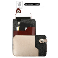 city&case fashion felt mobile phone cover case for iPhone6 6s