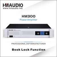 HM300 professional power amplifier 2 channels audio power amplifier