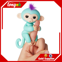 Chrismas gift finger toys finger ling interactive puppet baby monkey toy finger monkey