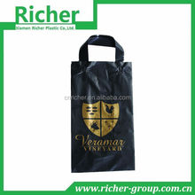 side gusset printed HDPE handle bags for packaging