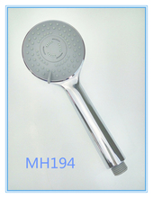 2015 Online hot sale fashional shower heads multi-function ABS Plastic chromed plated shower head MH194