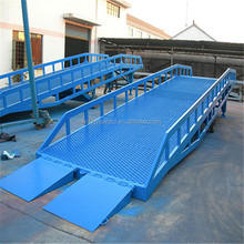 For workshop loading hydraulic moveable cheap price yard ramp hydraulic truck steps