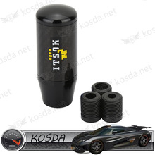 drift car 9cm carbon fiber transmission gear short shift knob shifter lever covers