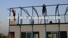 recycling prefabricated building for worksite or labor camp