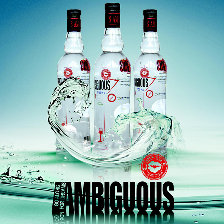 Top quality vodka rankings drink vodka manufacturer with ISO FDA QS