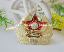 military rank badge embroidered