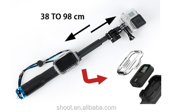 Original 98cm (39'') Monopod with Wifi Housing for Gopro Hero HD 4 3+ 3 2 1