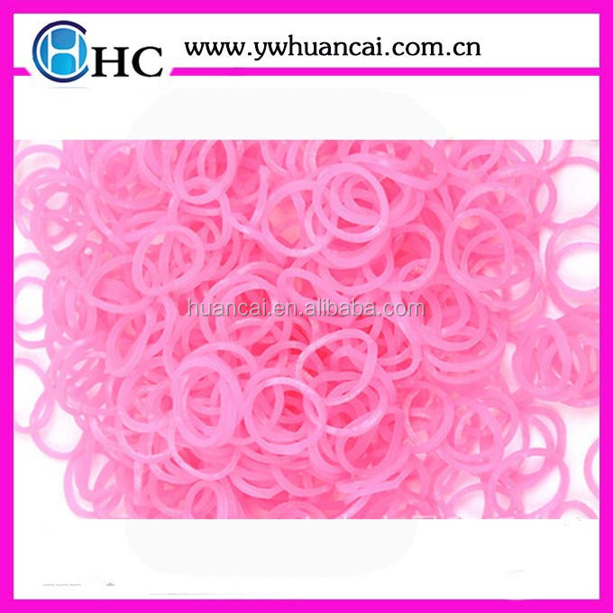 New Hot Selling Fashion Super Fun Rubber Bands DIY Toy Bracelet Loom Elastic Bands