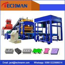 Automatic Hydraulic Cement Hollow Block Making Machine QT5-15 Interlocking Brick Machine