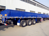 Tongya 2014 NEW 800mm height side wall bulk cargo semi trailer