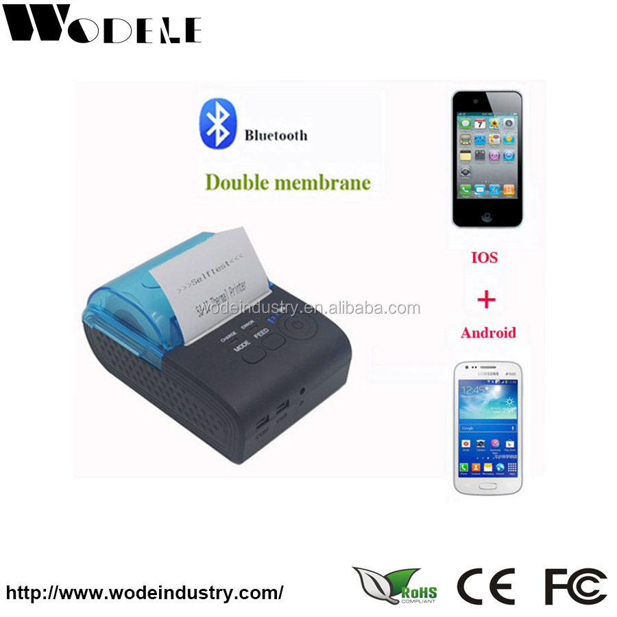 high quanlity handheld android bluetooth wireless printer photo