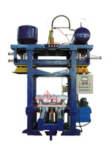 HY resin sand shooting casting machine, sand molding line