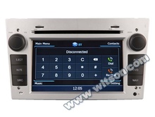 WITSON auto radio dvd gps for OPEL VIVARO 2006-2010 WITH A8 CHIPSET 1080P V-20DISC WIFI 3G INTERNET DVR SUPPORT