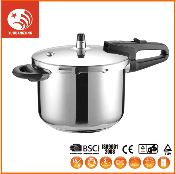 Hot Sale Farberware 18/10 Induction Pressure Cooker Stainless Steel Housing Cooking Pot