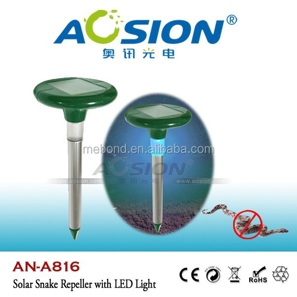 Aosion Supply Waterproof sonic solar electronic snake repellent