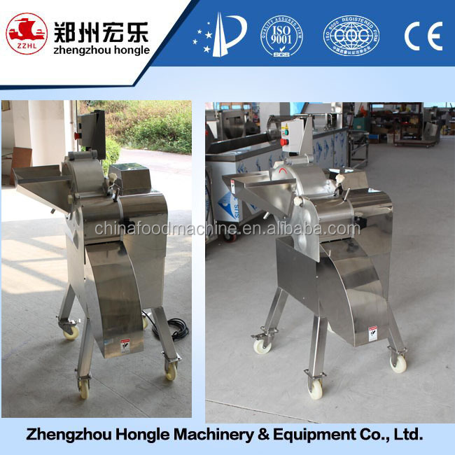 1000kg/h Frozen Fruit And Vegetable Cube Cutter Machine