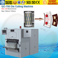 Professional Manufacturer Coffee Tea Paper Cup Printing Die Cutting Machine