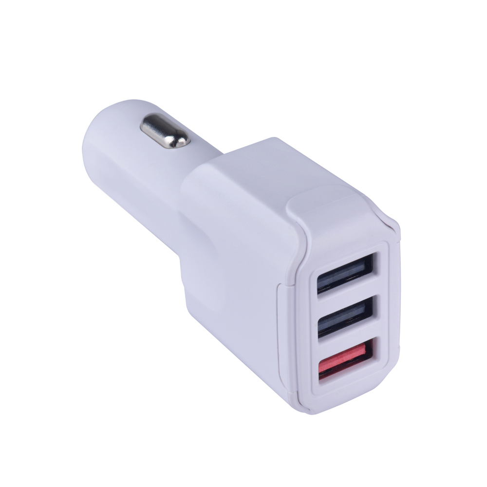 2018 NEW Top Quality Real Quick Charger QC 3.0 Trible USB ports 8.2A Universal USB car Charger
