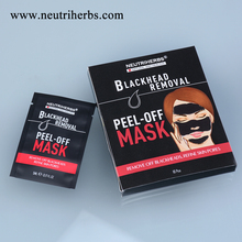New Innovative Chinese Easy Peel of Sticker Blackhead Nose Strips Clear Mask for Shrink Pores