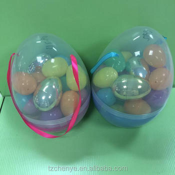 best factory price plastic easter eggs wholesale in stock