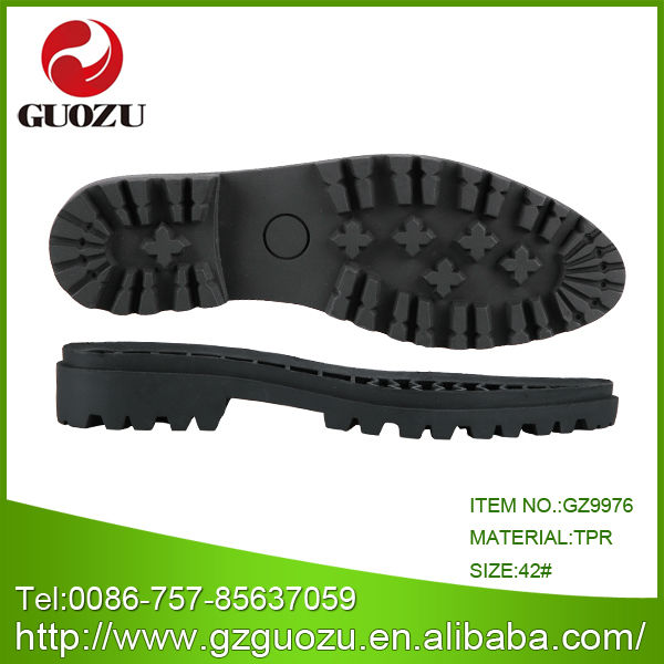 slip resistant tpr outsole for men