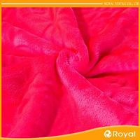 Super Soft And Comfortable Heavyweight Fleece Fabric Pongee Bonded With Transfer Pu Coated