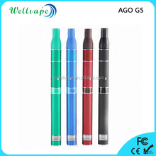 High quality welcome OEM ago g5 vapor tank 510 dry herb vaporizer