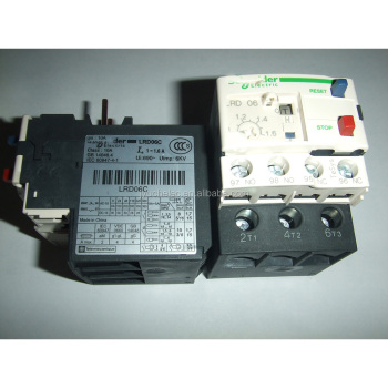 Original genuine thermal overload relay LRD06