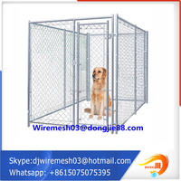 chain link fence dog kennels cage supplier