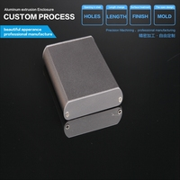 YGK -034 57.5*13-73mm enclosure manufacturers tool box aluminium for metal enclosure electronics