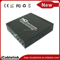 CVBS AV + HDMI TO HDMI HDCP Decode 720/1080P HD Video converter + Digatal Audio For STB DVD PS2 PS3 PSP WII HDV