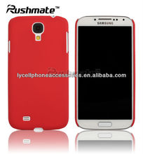For Samsung Galaxy S4 i9500 Red Rubberized Crystal Cover