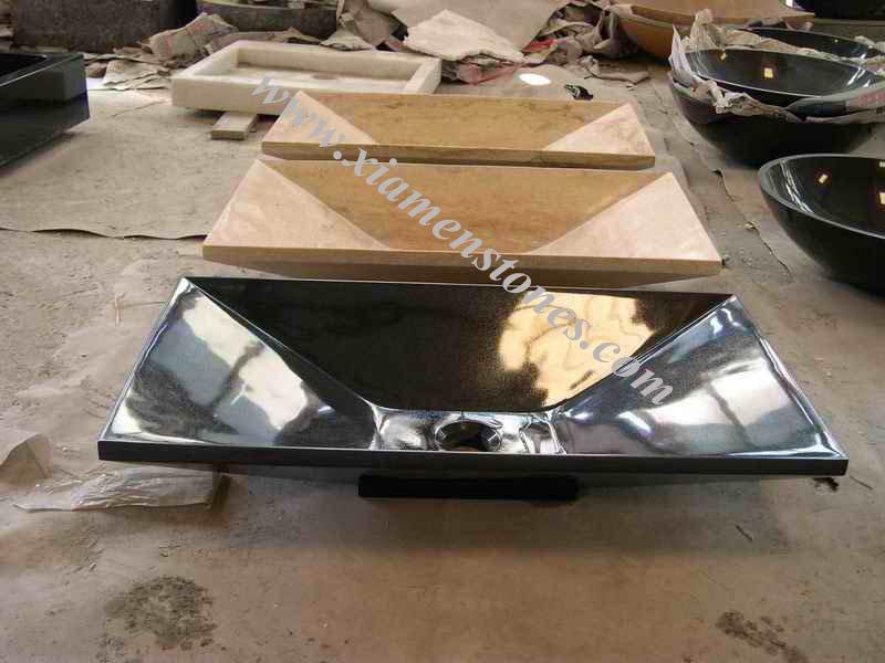 Barato fregaderos de granito negro absoluto lavabo de for Granito barato precio