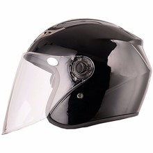 Stylish motorcycle scooter 3/4 open face casco motorbike helmets for motor