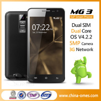 Newest Coming 3g Dual Sim Unlocked Smartphones MTK Cellphone