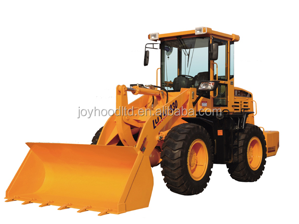 Earth Moving Equipment 2.5 ton Wheel Loader For Sale With 1.1m3 Bucket