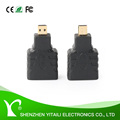 High Speed HDMI Type D to Type A Male to Female M/F Converter Adaptor Supports 4K 4Kx2K Ultra HD UHD 1080P Full HD 3D ARC Ether