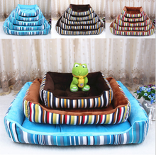 factory sale pet accessories four seasons use canvas dog beds for pet indoor