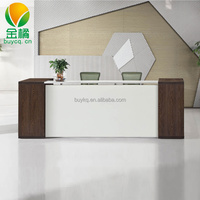 Moder Furniture reception desk design used reception counters cheap office furniture